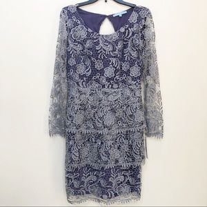 NWT Antonio Melani Tantem Dress Crochet